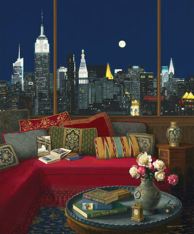Jenness Cortez, 'Manhattan in the Moonlight', 2015