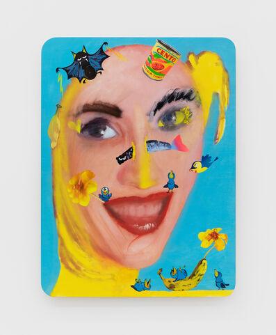 Alessandro Pessoli, 'Yellow Queen', 2020