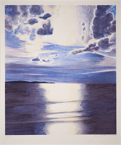 April Gornik, 'Sea Light', 1996