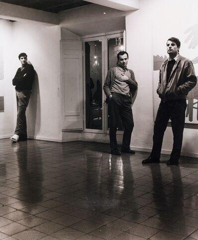 Plinio De Martiis, 'Ceroli, Mambor e Tacchi at the Mambor solo show', 1965