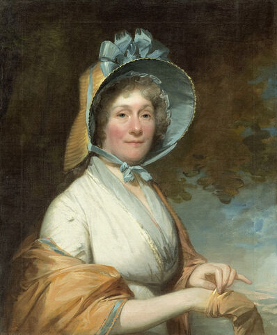 Gilbert Stuart, 'Henrietta Marchant Liston (Mrs. Robert Liston)', 1800