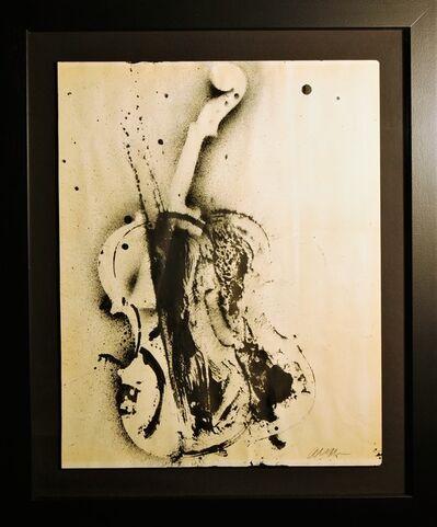 Arman, 'Untitled (Colère de Violon)', 1970