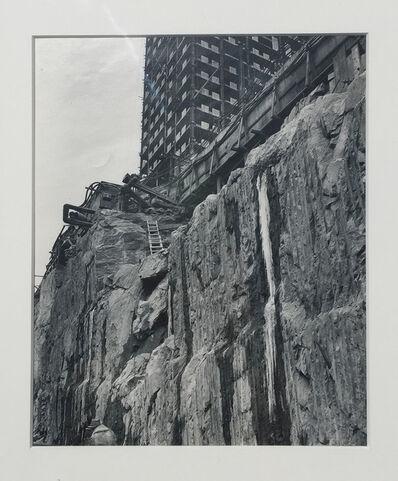 Berenice Abbott, 'Foundation for Rockefeller Center', 1932/1960