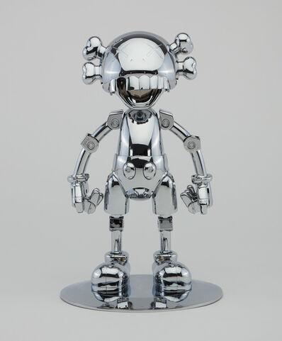 Kaws x Hajime Sorayama, 'NO FUTURE COMPANION (Silver Chrome)', 2008
