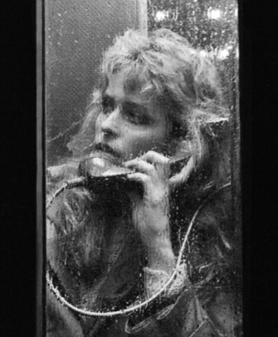 Harry Benson, 'Farrah Fawcett, Close Up Rain', 1981