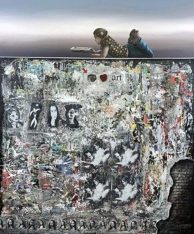 Steve Johnston, 'I Love Art', 2020