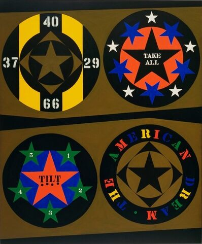 Robert Indiana, 'The American Dream (Tilt)', 1996
