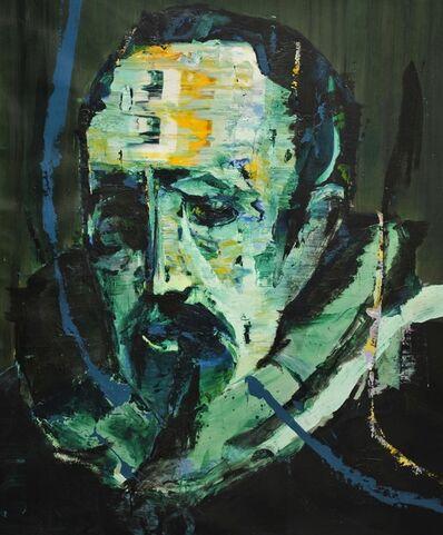 Lars Teichmann, 'Green Man van Dyck', 2018