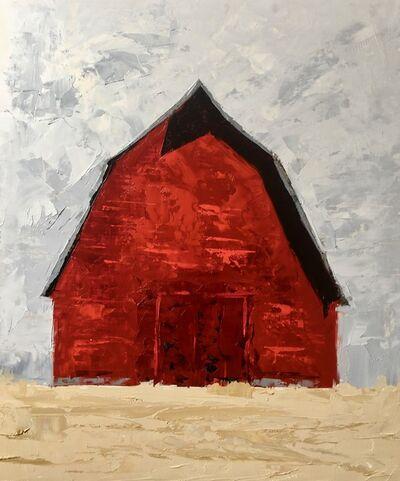 Sandra Pratt, 'Red Barn', 2021