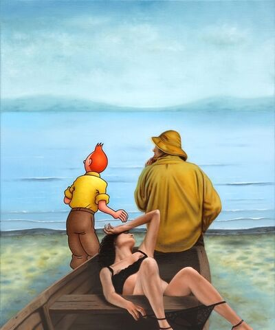 Ole Ahlberg, 'When the Boat Comes In ', 2010