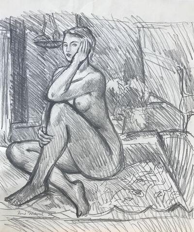Rene Marcil, 'Nude', 1951