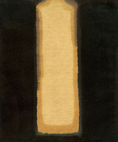 Yun Hyong-keun, 'Umber-Blue', 1976