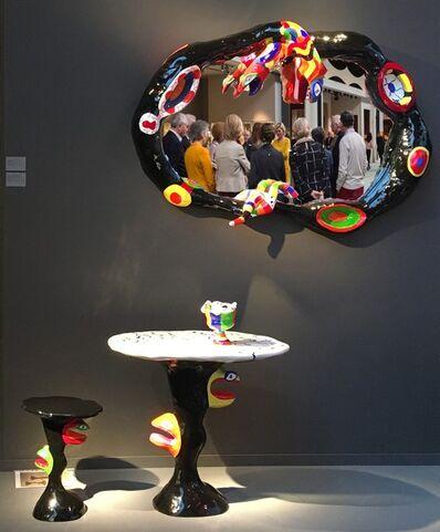 Niki de Saint Phalle, 'TABLE, STOOL AND VASE (1978)', ca. 1980