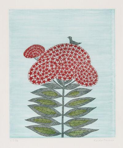 Keiko Minami, 'Bird on Flower', circa 1988