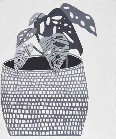 Jonas Wood, 'Untitled (Grid Pot)', 2009
