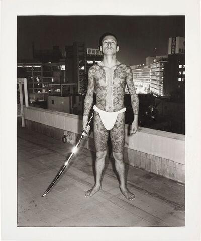 Seiji Kurata, '入墨の男 [Irezumi no otoko] Tattooed Man from Flash Up', 1975