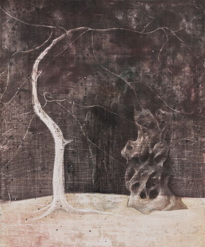 Yin Zhaohui, 'Pine and Rock', 2017