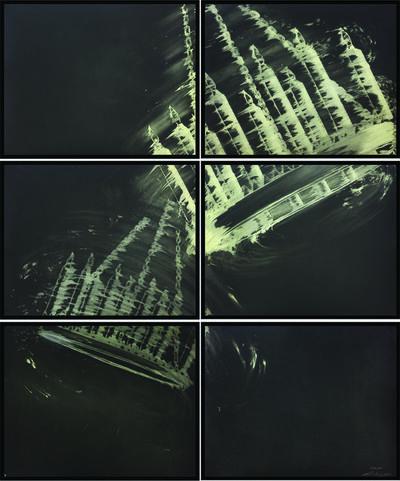 Gary Simmons, 'DOUBLE SWING HALLWAY', 2011