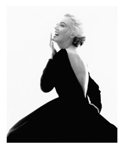 "Bert Stern, 'Marilyn Monroe: From ""The Last Sitting"" (Black Dress, Laughing)', 1962"