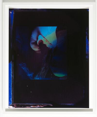 Benedicte Gyldenstierne Sehested, 'Untitled (two not belonging hands & one head in the dark)', 2015