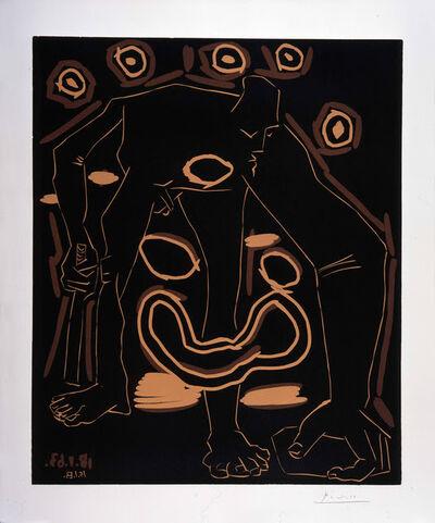 Pablo Picasso, 'L'Homme au Bâton', 1963