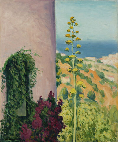 Albert Marquet, 'Aloes fleuri', 1944