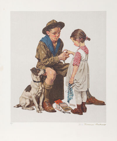 Norman Rockwell, 'Young Doctor', 1977