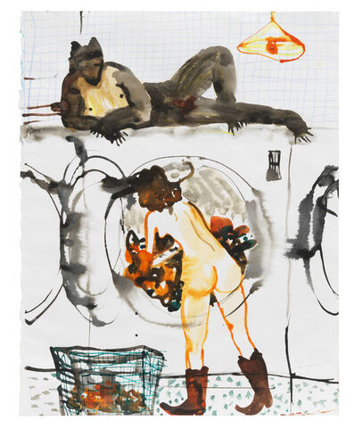 Katarina Janeckova, 'Reversed laundromat fantasy', 2020