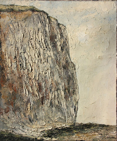 Paolo Vallorz, 'Scogliera a Ault', 1968