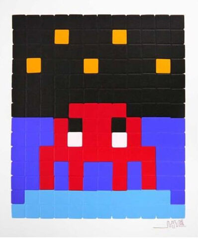 Invader, 'Space One (Red)', 2013