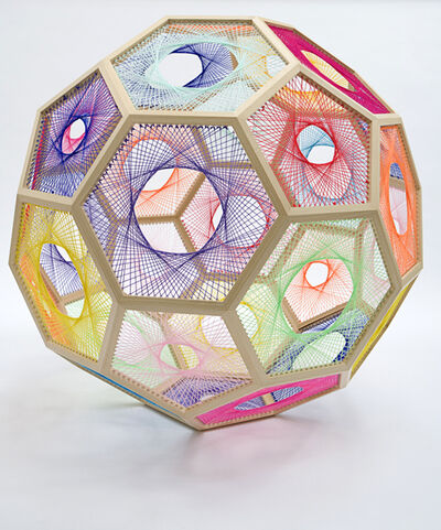 Nike Savvas, 'Sliding Ladder: Truncated Icosahedron', 2010
