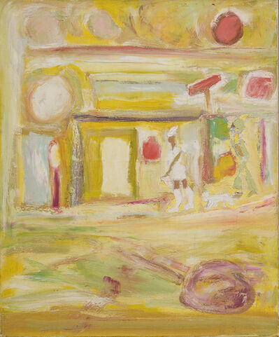 Beauford Delaney, 'Untitled (Paris Street)', ca. 1966