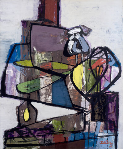 Jankel Adler, 'Composition (Still Life on a Table)', 1947