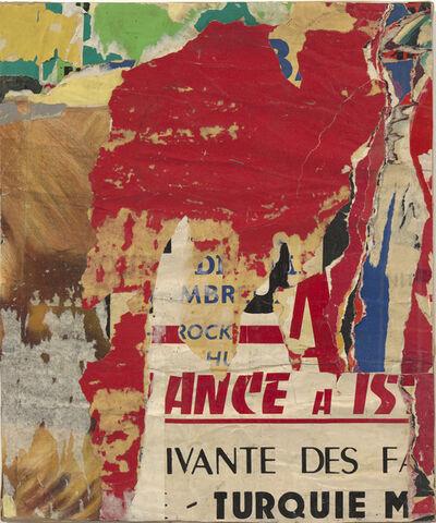 Jacques Villeglé, 'Boulevard Diderot', décembre 1959
