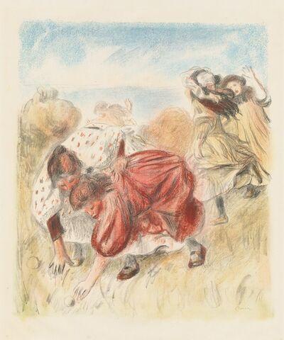 Pierre-Auguste Renoir, 'Children Playing Ball (Enfants jouant a la balle)', 1900