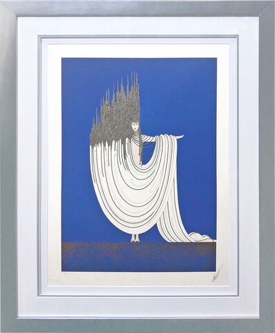 Erté (Romain de Tirtoff), 'ARCTIC SEA', 1981