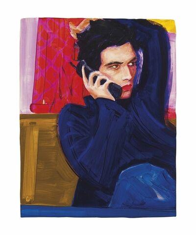 Elizabeth Peyton, 'Gavin on the Phone', 1998