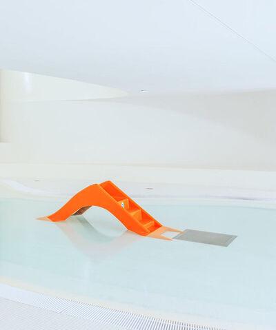 Ludwig Favre, 'Orange Slide', 2020