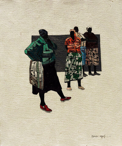 Peter Ngugi, 'Accomplice V', 2018