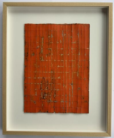 Jean Wolff, 'Scrubbed Orange', 2016