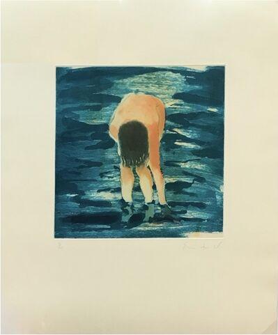 Eric Fischl, 'Untitled (Boy in blue water)', 1988