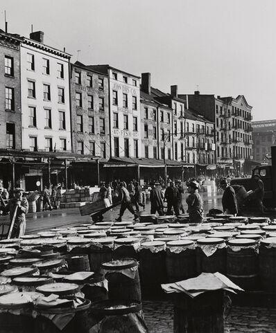 Andreas Feininger, 'Fulton Fish Market, Port of New York', 1946-printed 1998