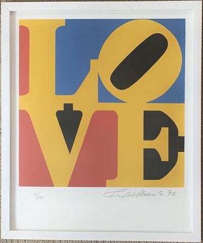 Robert Indiana, 'LOVE (Red Yellow Blue)', 1996