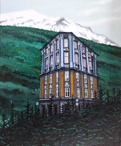 Alexei Svetlov, 'Blått hus', 2019