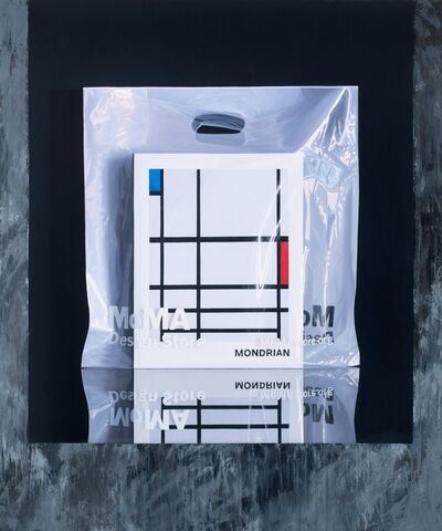 Carlos Vega Faúndez, 'Serie Museos. Mondrian @MOMA', 2019