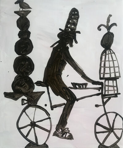 Mie Olise Kjærgaard, 'Biking with a Free Bird', 2019