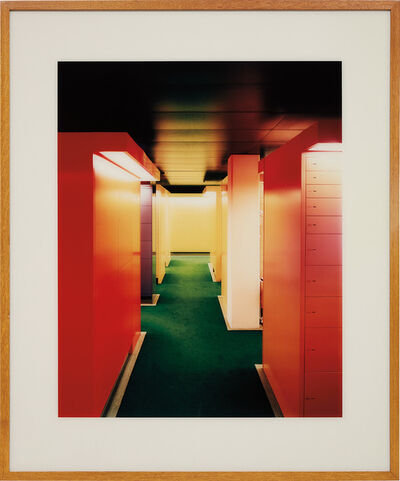 Andreas Gursky, 'Zurich Bankproject no. 8'