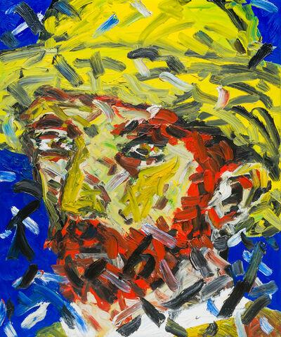 Friedemann Hahn, 'Kopf nach Van Gogh', 1983