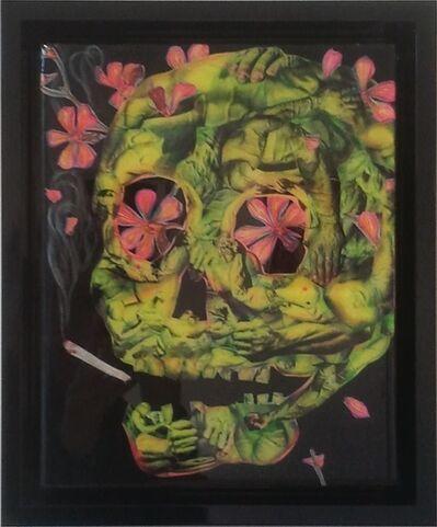Judith Supine, 'Black death'