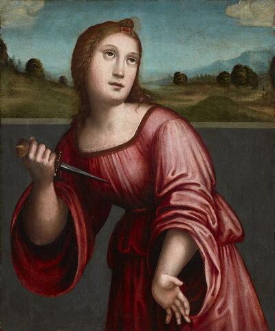 Giacomo Raibolini Francia, 'Lucretia', ca. 1500